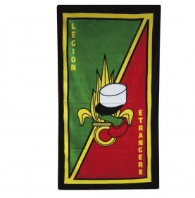 Serviette Légion Etrangère colorée
