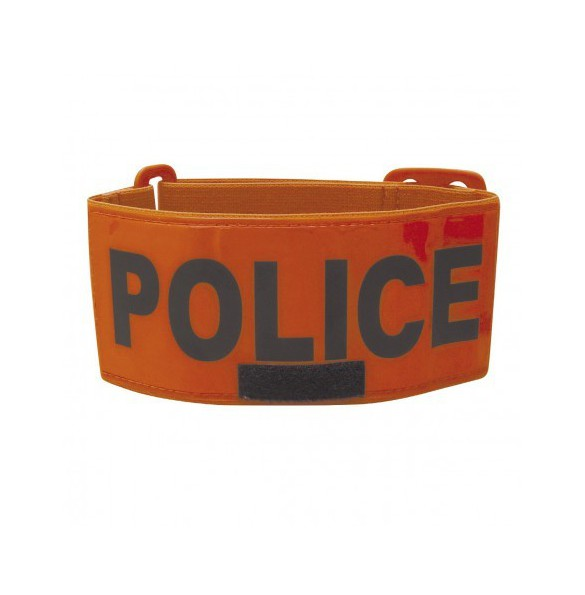 Brassard Police avec Emplacement Identification