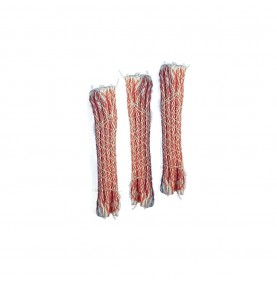 LOT DE 32 MECHES DE NETTOYAGE ROUGES CALIBRE 5.5MM A 6.5MM