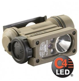 Lampe SideWinder Compact 2 Military StreamLight Coyote