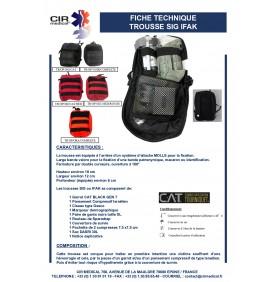 TROUSSE DE SECOURS / SIG / TSU / TCC / IFAK COMPLÈTE