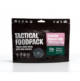 TACTICAL FOODPACK - Muesli croquant aux fraises