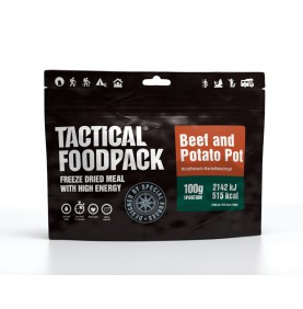 Tactical Foodpack Repas Outdoor Bœuf Parmentier
