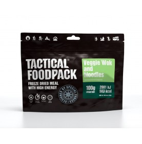 Tactical Foodpack Repas Outdoor Wok de nouilles aux légumes