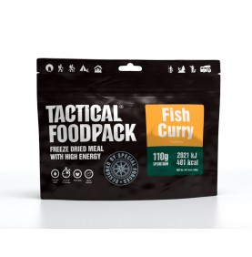 Tactical Foodpack Repas Outdoor Poisson au Curry et Riz