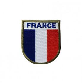 Ecusson France Velcro haute visibilité