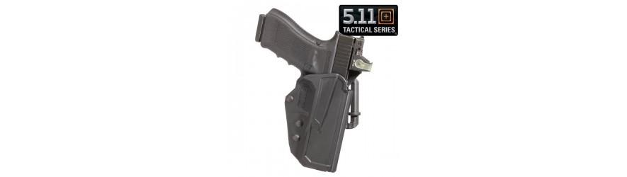 Vente de holster pour arme de poing : étui cuisse et ceinture